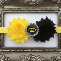 Batman Headband!  Bat Girl Headband!  Batgirl Baby, Batgirl accessories
