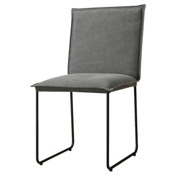 Florence Dining Chair, Gray, Side Chairs