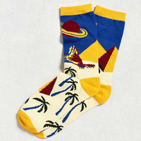 Sphinx Scene Sock | Urban Outfitters
