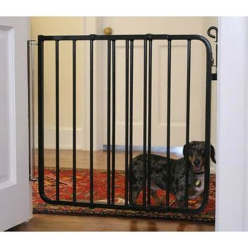 Cardinal Gates Auto Lock Hardware Mounted Dog Gate Black 26.5- 40.5x 29.5 Inch -Cardinal Gates