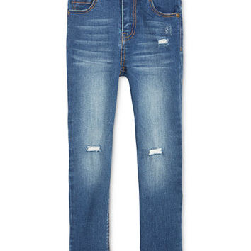 Epic Threads Raw Hem Distressed Skinny Jeans, Toddler & Little Girls (2T-6X), Created for Macy's | macys.com