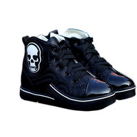 Aliexpress.com : Buy New 2014 children sneakers high top Skull children shoes boys and girls shoes kids tide skeletons sneakers flats from Reliable shoe zone shoes suppliers on Smalltao Kids Paradise | Alibaba Group