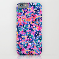 Painting Flowers iPhone & iPod Case by Pink Berry Patterns
