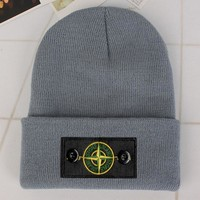 Stone Island Fashion Edgy Winter Beanies Knit Hat Cap-6