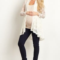 Ivory-Floral-Lace-Long-Cardigan
