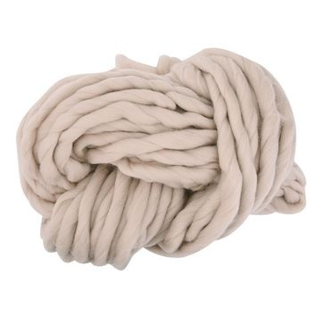 Home Warm Super Soft Wool Thick Natural Merino Wool Chunky Yarn Roving Yarn Spinning Hand Knitting Cotton Wools