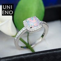 Rainbow Big agate opal ring Opal opal jewelry