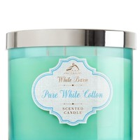 3-Wick Candle Pure White Cotton