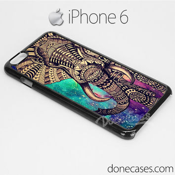 elephant galaxy aztec pattern iPhone 6 case, iphone 6 plus case