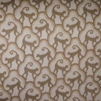 Discount Fabric-Pat Freund Design for P Kaufmann Fabrics ~Small Scale Monkey, Beige on Off White