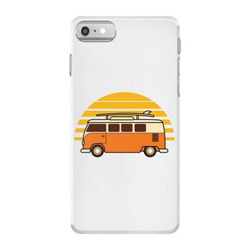 sunset van iPhone 7 Case