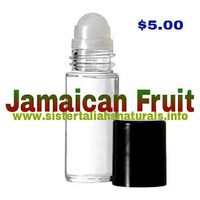 The BEST Jamaican Fruit Fragrance Oil for the Body!  All Natural, No additives, completely pure Wholesale Available~!