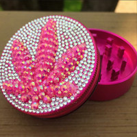 3D Leaf Crystal Pocket Shredder