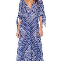 Blue Life St. Barths Caftan in Blue