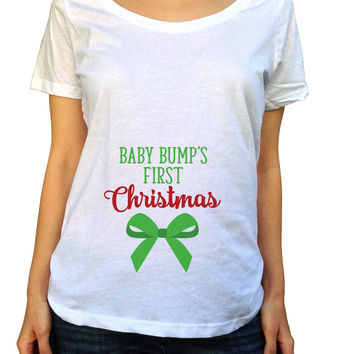My Baby Bumps 1st Christmas Shirt