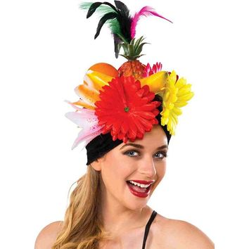 Rubie's Costume Co Women's Deluxe Tropicalia Costume Fruit Hat