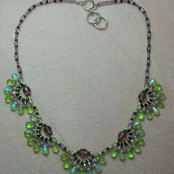 Drop it like it's Hot Necklace PDF Pattern Tutorial (INSTANT DOWNLOAD)