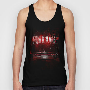 Road rage Unisex Tank Top by HappyMelvin