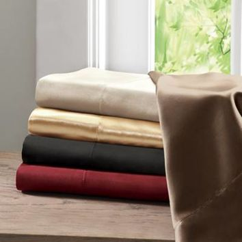 Madison Park Essentials Premier Comfort Satin Sheet Set
