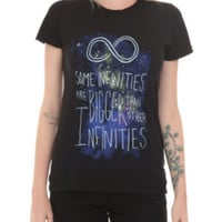 The Fault In Our Stars Some Infinities Girls T-Shirt