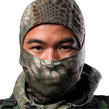 Outdoor Hunting Sports Full Face Mask Cycling CozyOutdoor Tactical Airsoft Ski Quick-drying Hood Balaclava