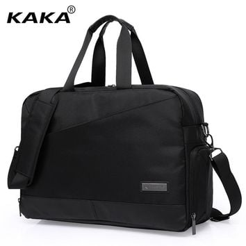 2017 Brand Korean Style Unisex Men Luggage Travel Bags for 17.3 Laptop Waterproof  Women Handbag Messenger Shoulder Bags Totes