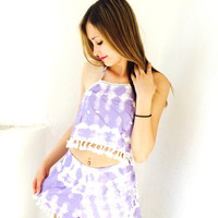 Lost In Love Shorts- Purple {Boutique Collection}
