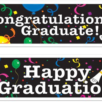 Graduation Banners Case Pack 12