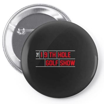 my best round is the 19th hole funny golf drinking Pin-back button