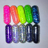 Glitter Pills *10* Great Gifts and Party Favors!