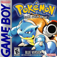 Pokemon Blue for the Gameboy Color (GBC)