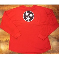 Tennessee State Flag Sweeper Jersey (Red/White/Blue)