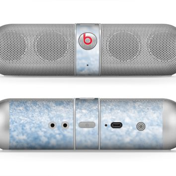 The Sparkly Snow Texture Skin for the Beats by Dre Pill Bluetooth Speaker