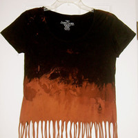Women's Small Fringed Shirt