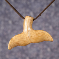 Whaletail Pendant. Sailor Charm. Iroko wood. Seemann Anhänger. Tail Wood Pendant. Handcrafted Whale Jewelry. Handmade Tail.