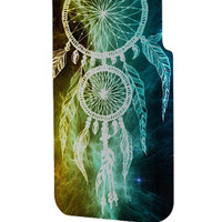 Best 3D Full Wrap Phone Case - Hard (PC) Cover with dreamcatcher galaxy nebula Design