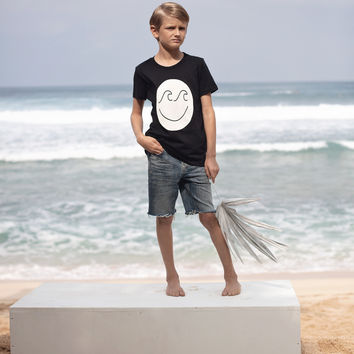 Kid's Wave Face Tee
