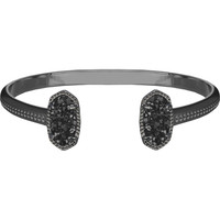 ELTON BRACELET IN BLACK DRUSY by Kendra Scott