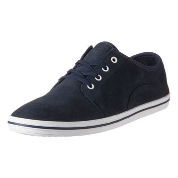 - EARTHKEEPERS CASCO BAY LEATHER OXFORD SHOES BY TIMBERLAND IN NAVY SUEDE