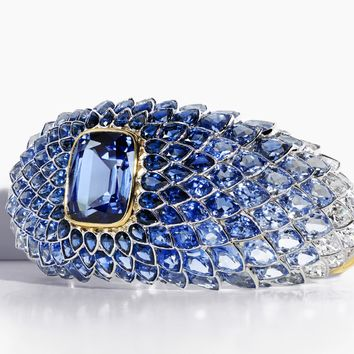 Tiffany & Co. - The Art of the Sea:Blue Spinel<br>Scales Bracelet