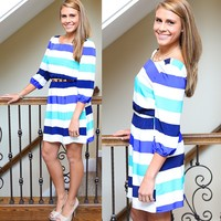 Stripe The Coast Dress