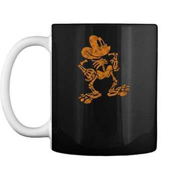 Disney Mickey Mouse Halloween Skeleton Mug