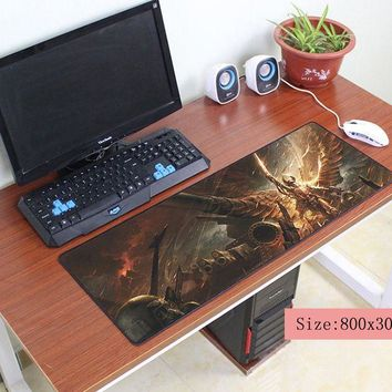 warhammer 40k mouse pad 80x30cm pad to mouse notbook computer mousepad gel gaming padmouse gamer to large keyboard mouse mats