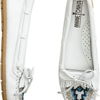 MINNETONKA BEADED KILTY MOCCASIN