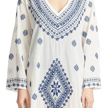 Surf Gypsy Embroidered Coverup/Tunic