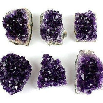 Natural Amethyst Crystal Clusters