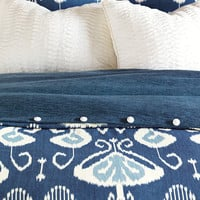 EASTERN ACCENTS CEYLON HAND-TACKED COMFORTER