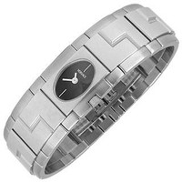 Versace Designer Men's Watches Sapho - Stainless Steel Oval Dial Watch