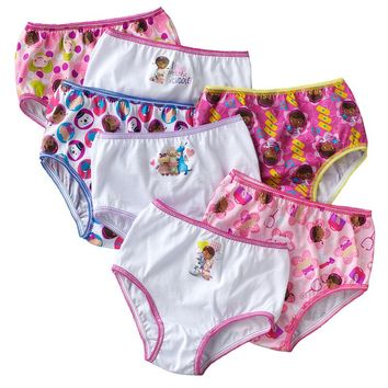 Disney Doc McStuffins 7-pk. Panties - Toddler, Size: