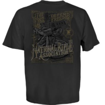 NRA Snake Protector Men's Short Sleeve T-Shirt